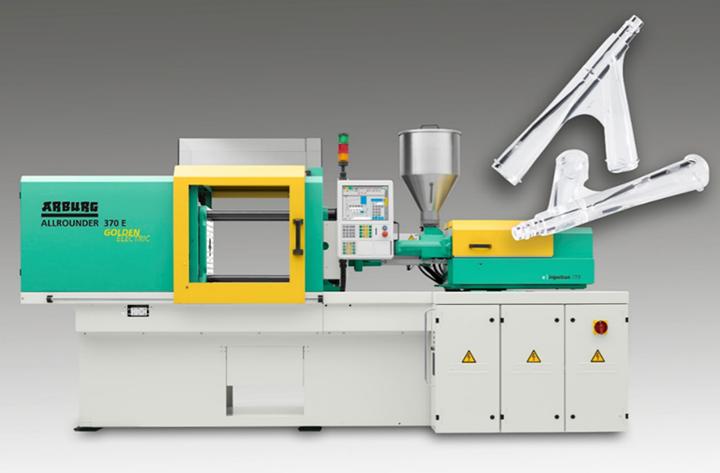阿博格Allrounder 370 E Golden Electric设备将采用PC材料生产输液治疗用的Y型联接部件