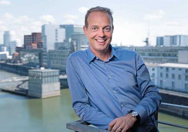 Bernd Gross是物联网先驱Cumulocity的首席执行官,他深信只有通过合作伙伴和共享学习才能推动数字化的发展