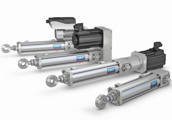 SKF的机电促动器系列适合各种应用,如汽车生产