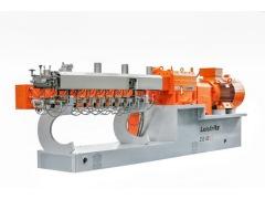 """莱斯特瑞兹:展示""""德国工程设计-满足高标准的中国采购组装""""理念的双螺杆挤出机"""