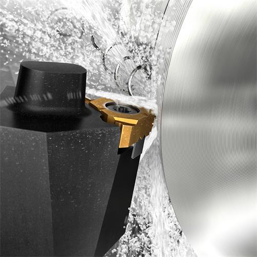 带有高精度上方和下方冷却液的CoroThread® 266螺纹车削刀具