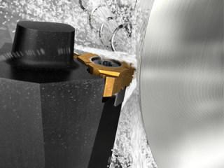 高精度冷却液助力螺纹车削工序