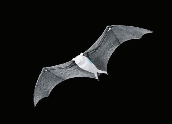 尽管翼展达到 2.28 米,BionicFlyingFox 的转弯半径很小