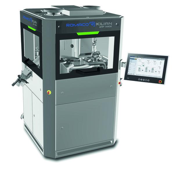 诺脉科Kilian KTP590X 单面旋转压片机(用于泡腾片产品)