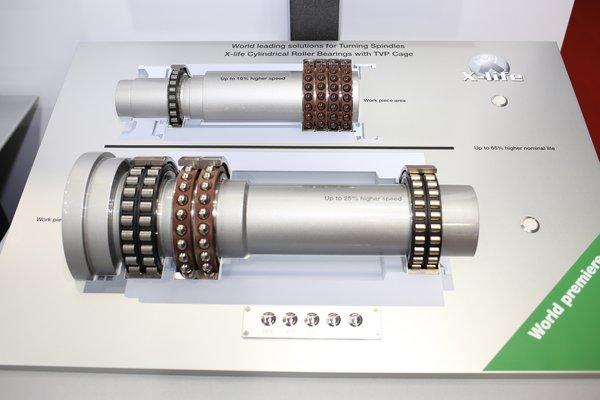 舍弗勒X-life品质新型主轴轴承具有更高的机械载荷和热负荷承载能力