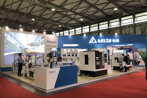 台达出席第十届中国数控机床展览会(CCMT)-展台