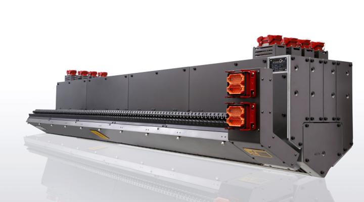 多层模内共挤技术一直是精诚团队的核心优势所在。2500mm CPP三层模内共挤流延模头是其中很有代表性的产品,可实现最高温差大80℃的多种聚合物的复合挤出