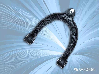 韩国日进与巴斯夫携手推出全球首款钢塑混合悬架臂