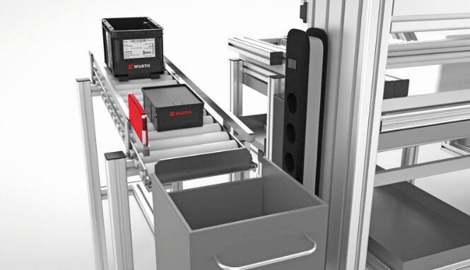 电池供电的I-Placer系统可以在任何地方使用,在必要时可以自动的发出补充供货的订单