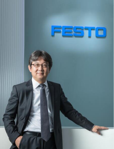 费斯托(中国)有限公司 大中华区总经理 刘天鹏