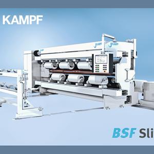 康甫(KAMPF)将展示新一代的电池隔膜分切机