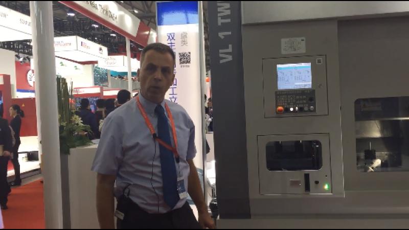 CCMT2018:埃马克(中国)机械有限公司CEO Dr. Uwe Rondé介绍展台