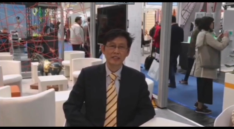 CeMAT 2018:访中国机械工程学会副理事长兼秘书长陆大明先生