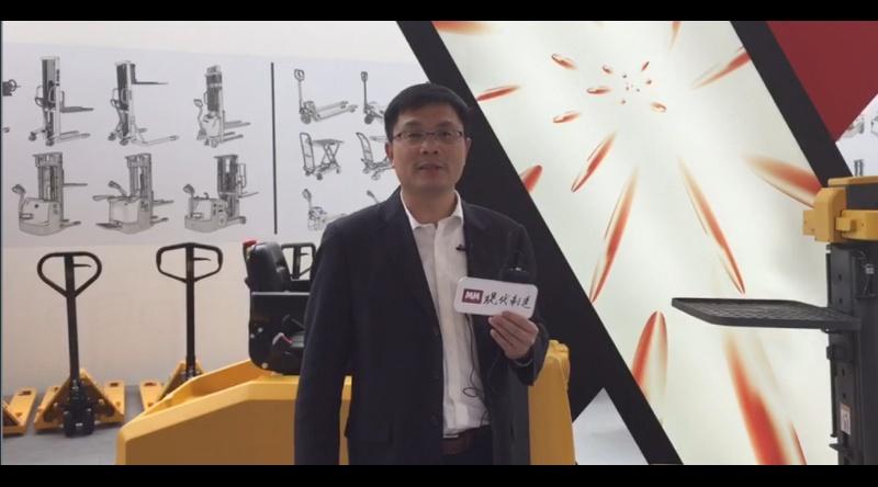 CeMAT 2018:访宁波如意股份有限公司的常务副总冯振礼先生