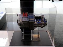 爱信展示单电机混合动力变速箱