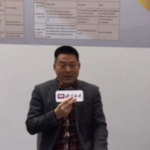 CeMAT 2018:访江西工埠机械有限责任公司营销总监郭希文先生先生