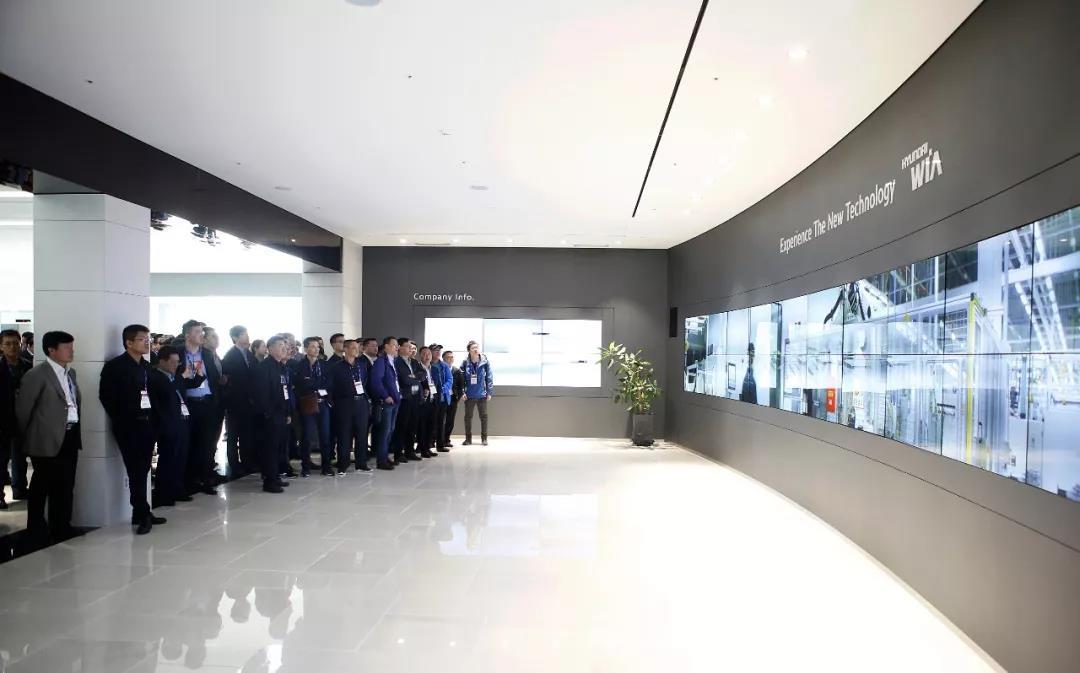 参观现代威亚位于昌原的总部