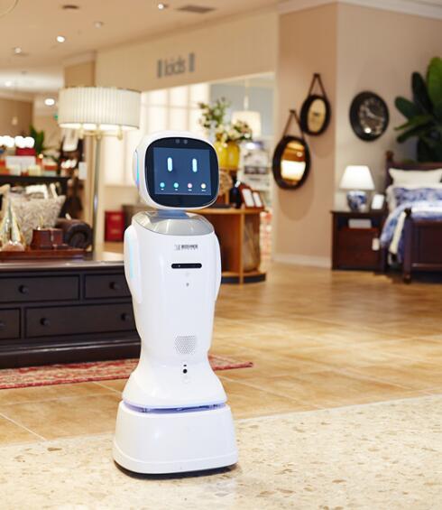 科沃斯公共服务机器人旺宝3