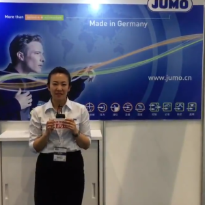 2018CIPM春季药机展  访久茂自动化(大连)有限公司温度传感器产品经理张茜女士