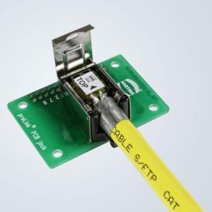 适用所有端口的魔方--浩亭全面拓展preLink®布线系统 / 安全可靠的连接技术