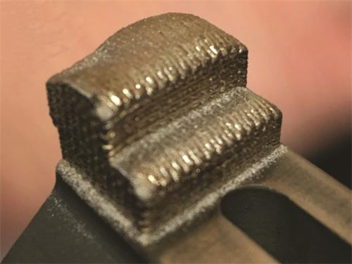 3D打印工序单独完成的涡轮叶片根部密封功能件