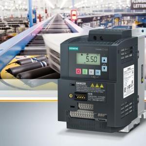 Sinamics V系列变频器推出全新外形尺寸和Profinet连接功能,进一步简化操作