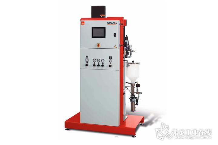 德派用于LSR加工的silcomix P20定量混合供料系统