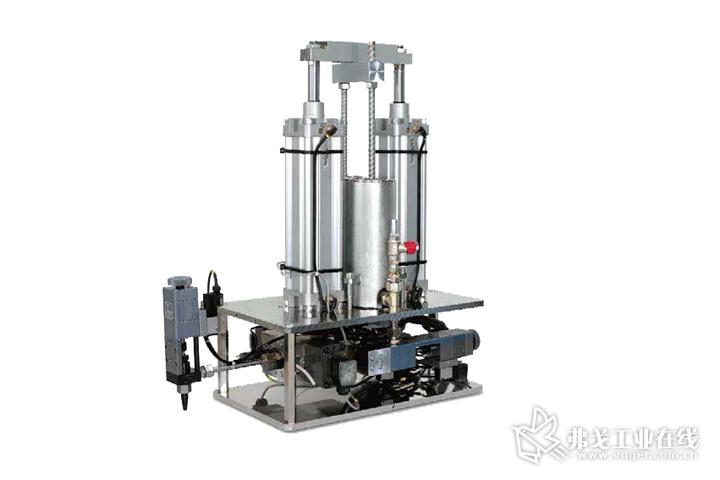 德派用于LSR加工的silcomix P1定量混合供料系统