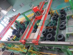 科捷:龙门机器人智能分拣码垛系统