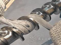 一种清洁螺杆、机筒的完整方法