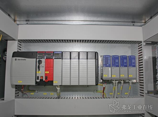 许多控制组件来自罗克韦尔自动化品牌Atten-Bradley