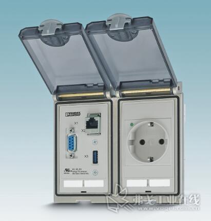 EO插座不仅安装方便,而且如RJ45接口或USB那样便于保养维护