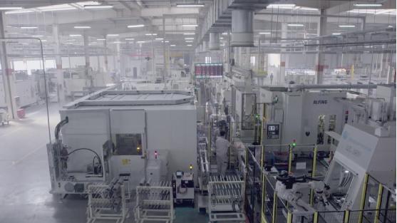 奇步发动机连杆生产自动化物流线