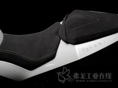 3D打印Energica Ego全电动摩托车的座椅和座椅板