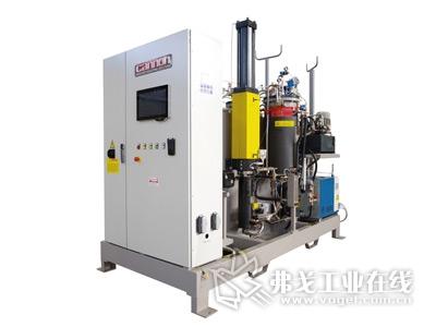 康隆(Cannon)的3组分E-System Enhanced增强型计量设备,适用于采用环氧树脂的HP-RTM和LCM浸渍方法