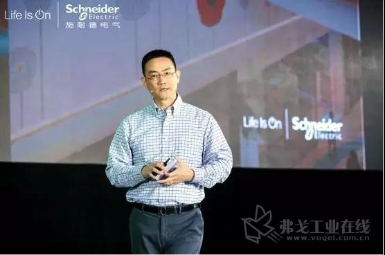 施耐德电气全球高级副总裁、IT业务部大中华区负责人丁伟庆