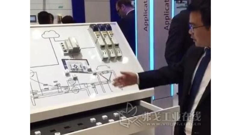 伦茨展出的重点产品和技术方案