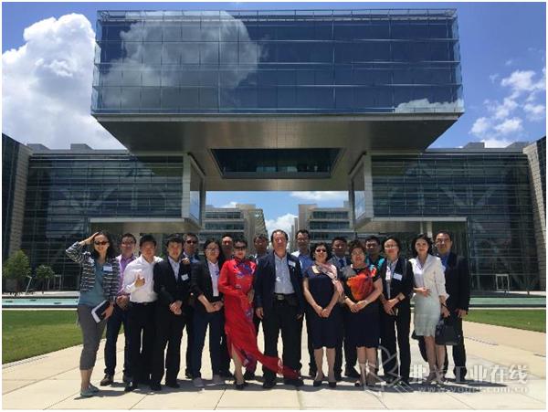 中国塑料机械工业协会代表团到访埃克森美孚全球总部