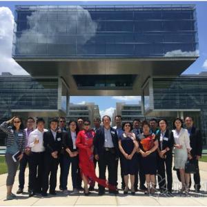 中国塑料机械工业协会到访埃克森美孚全球总部加深双方技术交流与合作