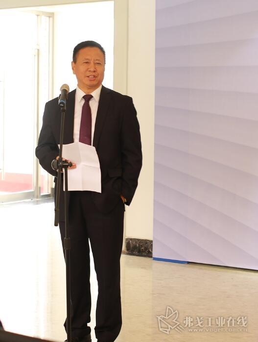 贝加莱大中华区总裁肖维荣博士参加签约仪式并致辞