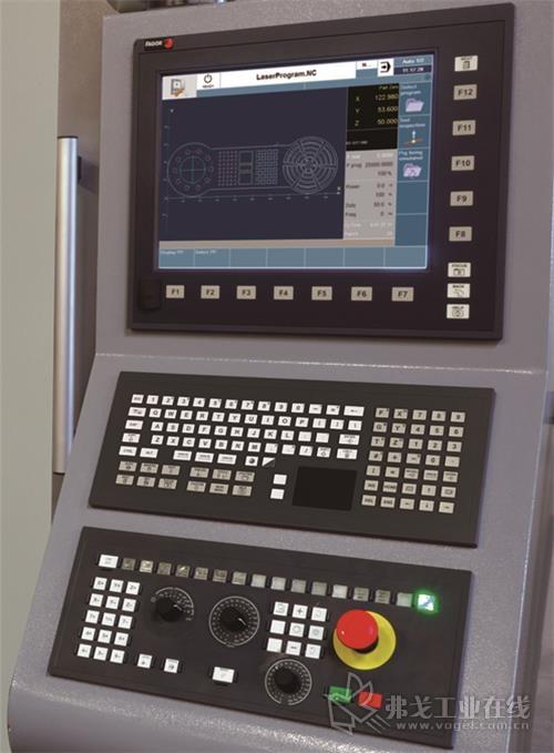 激光切割专用数控系统 CNC 8060 / CNC 8070 LASER