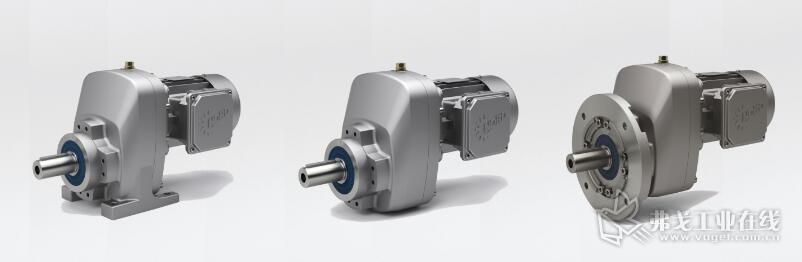 新型NORDBLOC.1单级斜齿轮减速电机