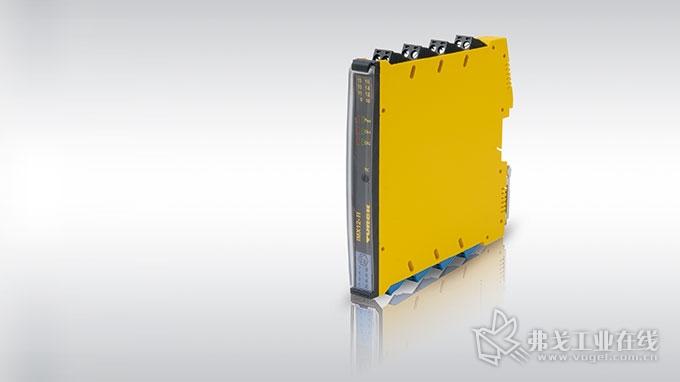 图尔克的IMX12-FI不仅监测速度,而且还可用作脉冲计数器
