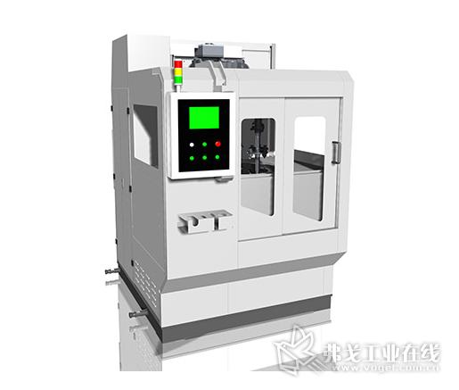 立式旋流式自由磨具光整设备——X400B
