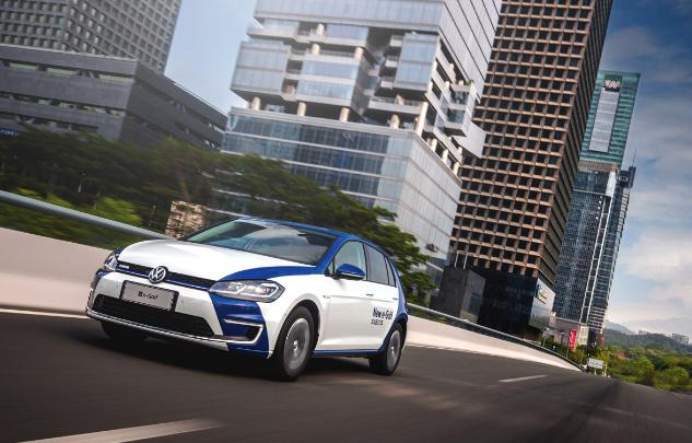 大众进口汽车新e-Golf