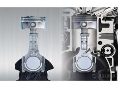 可伸缩连杆实现发动机的可变压缩比