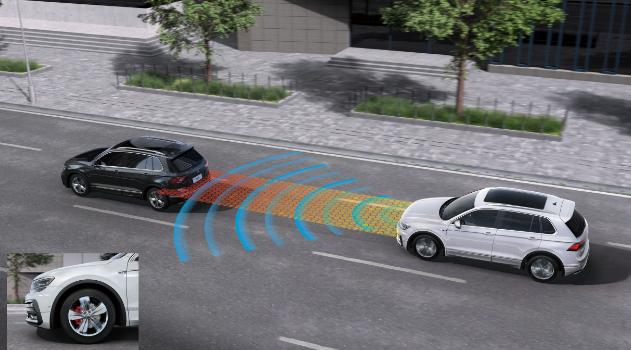 大众进口汽车 预碰撞安全系统