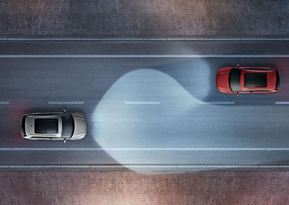 大众进口汽车 动态辅助照明系统
