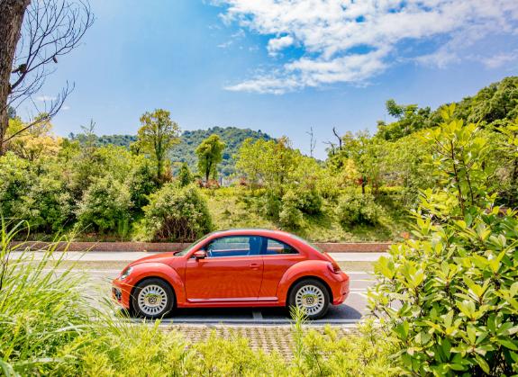大众进口汽车甲壳虫乐动橙版