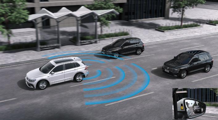 大众进口汽车 盲点检测系统